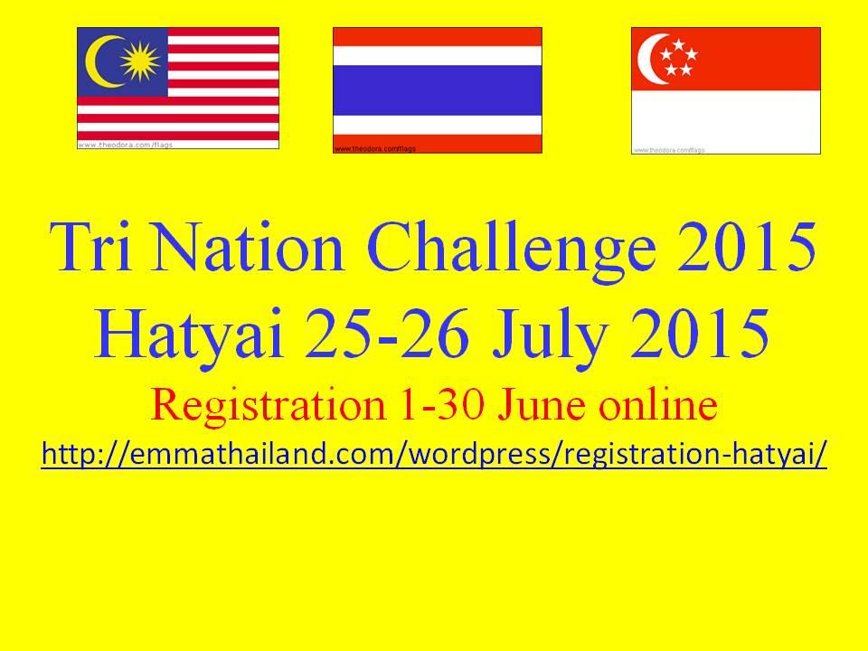 Tri Nation Challenge 2015